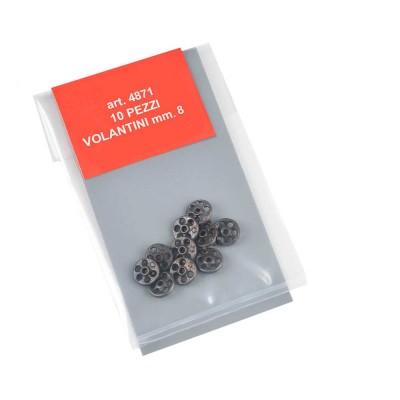 Volantini mm.8 metallo
