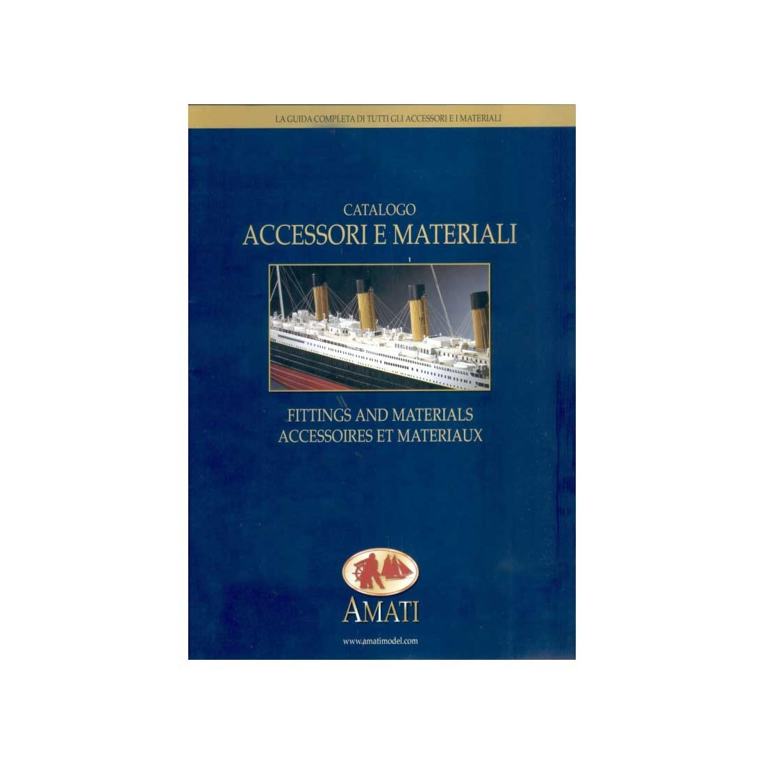 Catálogo de accesorios y materiales.
