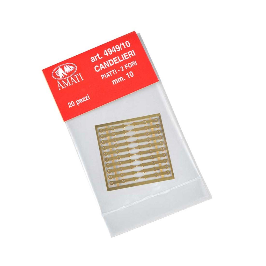 Chandeliers plats mm.10 (en photodécoupé)