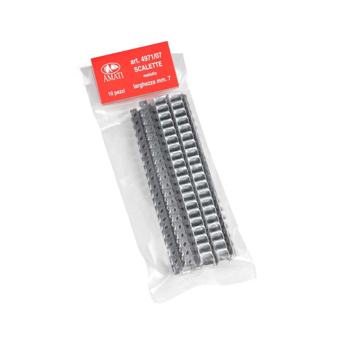 Escaleras de metal mm.7x100.