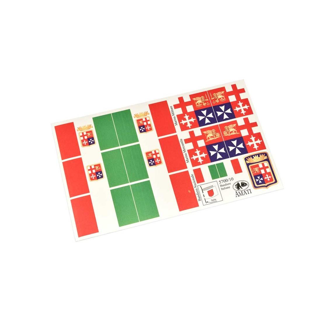 Banderas de la marina italiana