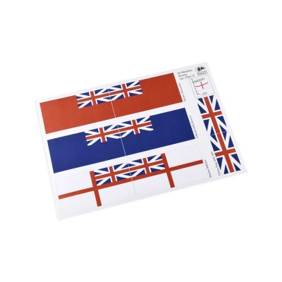 British flags 1700-1800