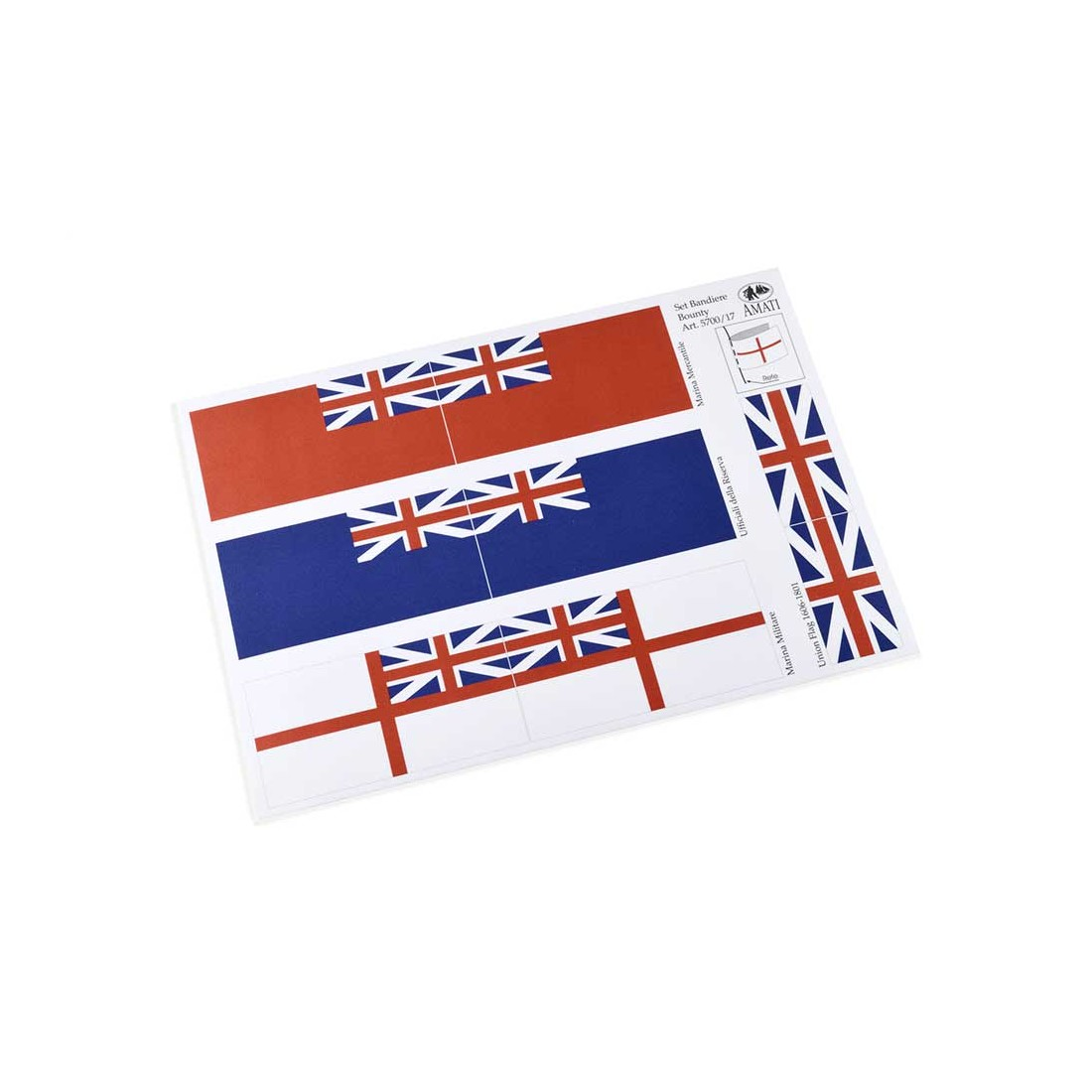 Bandiere inglesi 1700-1800