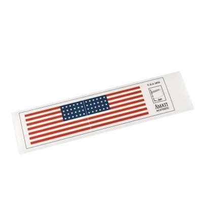 Banderas americanas de 1833