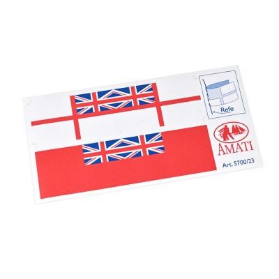 Banderas inglesas modernas