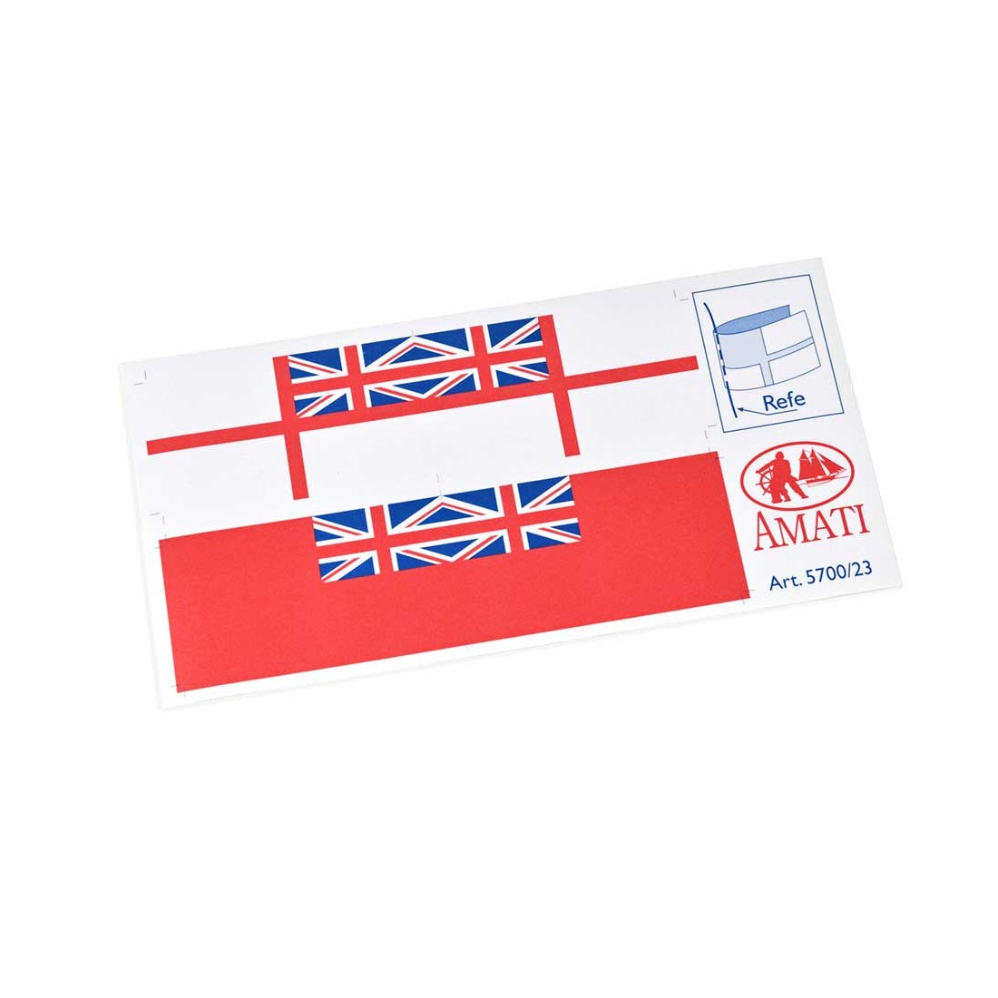 Modern English flags