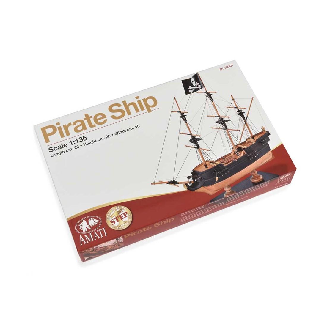 Barco pirata - Primer paso