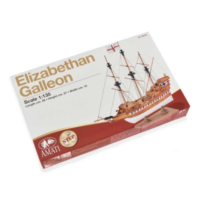 Elizabethan Galleon - First...