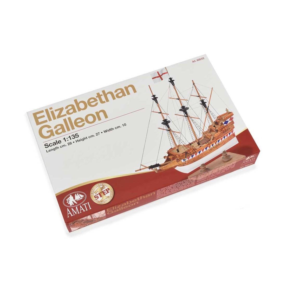 Elizabethan Galleon - First Step
