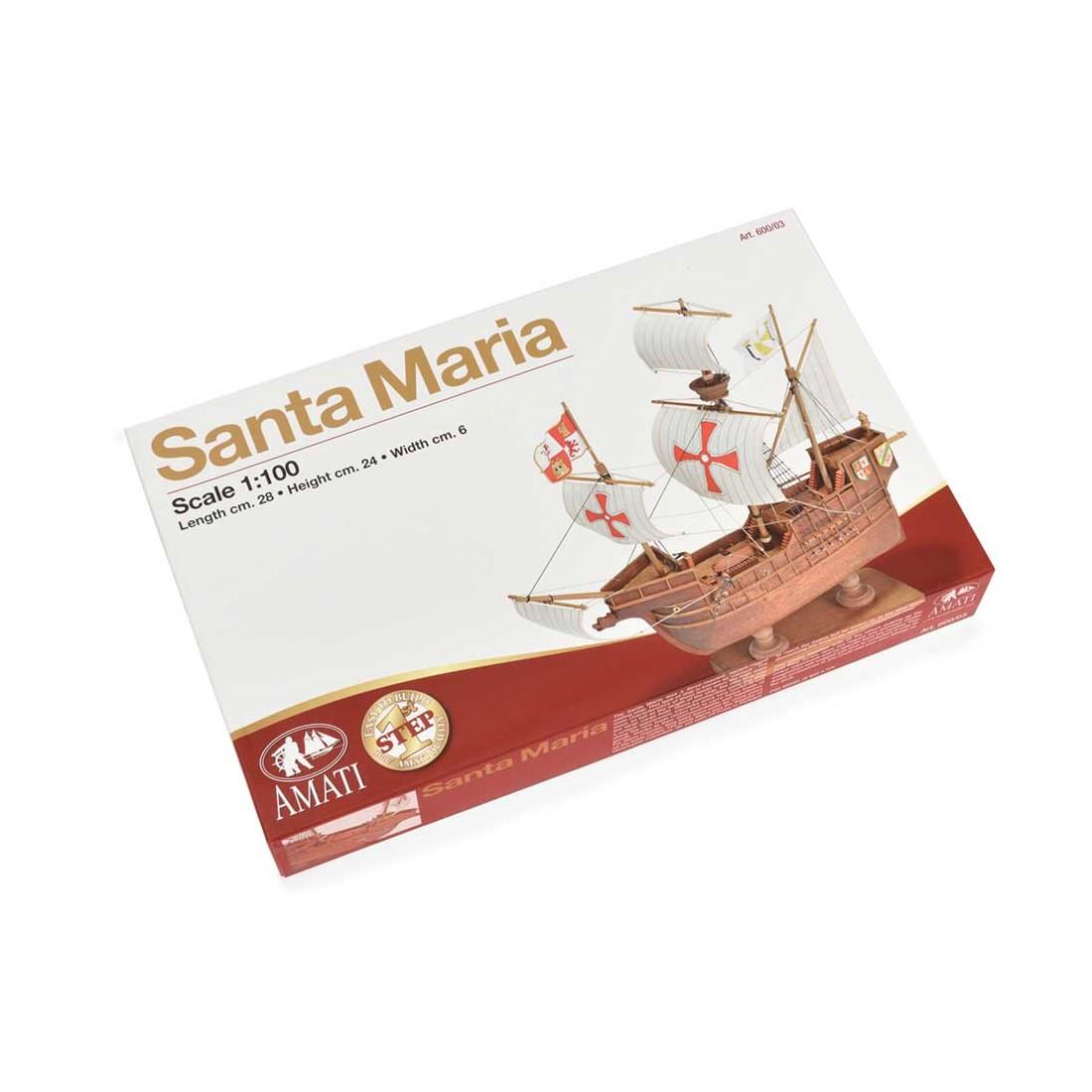 Santa Maria- First Step