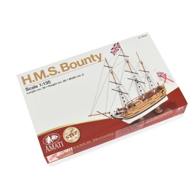 H.M.S. Bounty- First Step