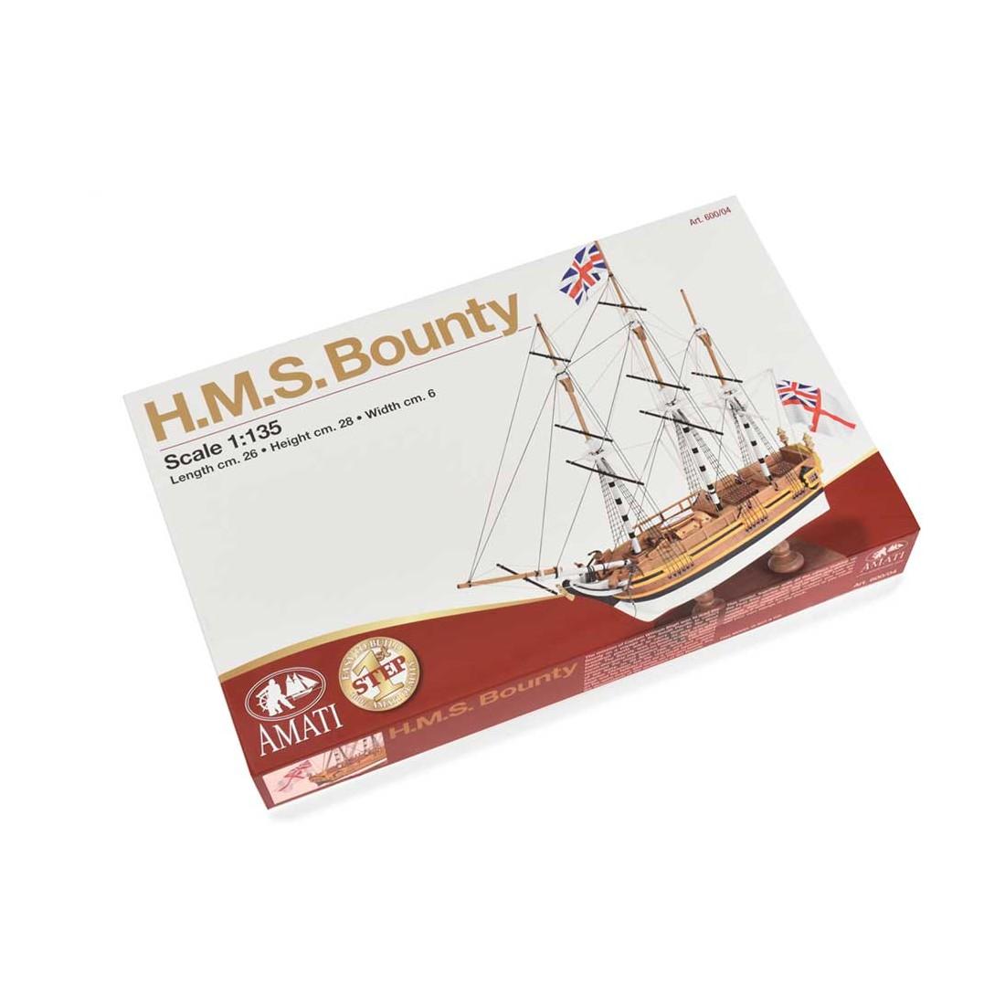 HMS Bounty - Primer paso