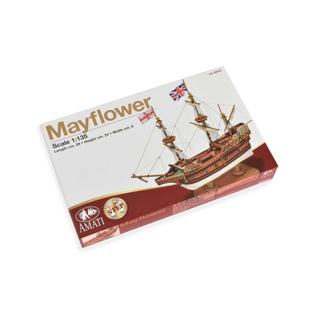 Scatola montaggio Mayflower - First Step