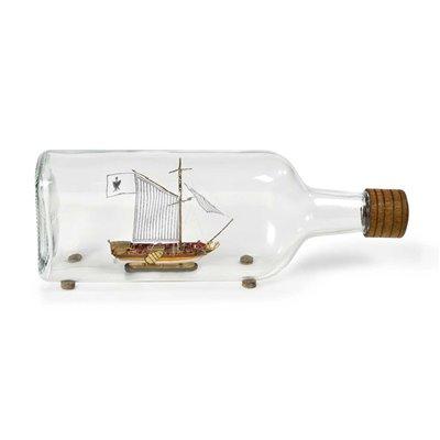 Kit de yate holandés (barco en botella)