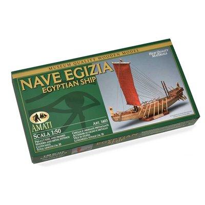 Scatola montaggio Nave Egizia