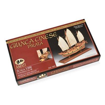 Scatola montaggio Giunca Pirata Cinese
