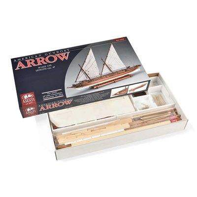 Scatola montaggio Cannoniera Arrow