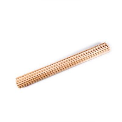 Tacos de madera de diám.mm 8
