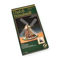 Molino de viento holandés