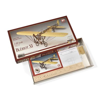 Scatola montaggio Aereo Bleriot XI