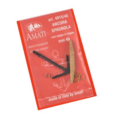 Ancres espagnoles mm.40