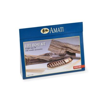 Scialuppe metallo-legno mm.90