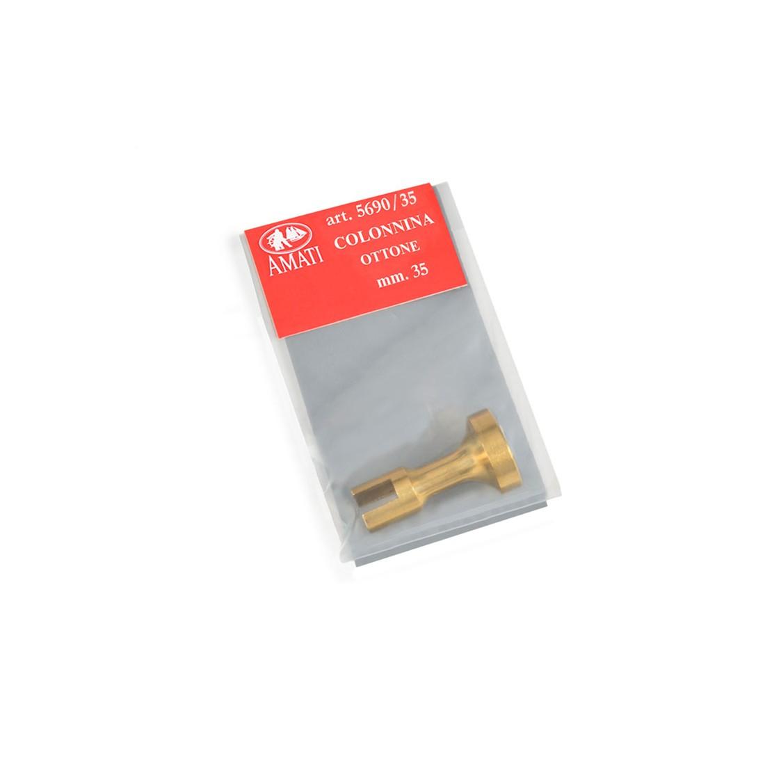 Brass pedestals h. mm 35
