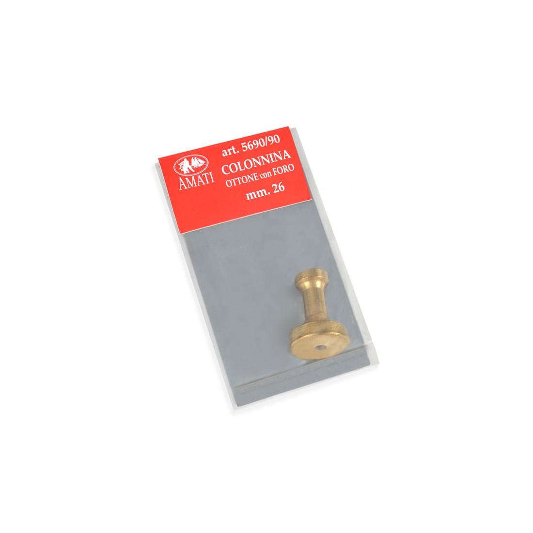 Brass pedestals h. mm 26