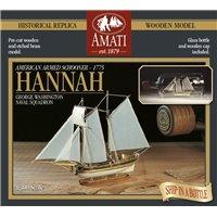 Hannah (nave en botella)