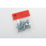 Screws with wing nuts