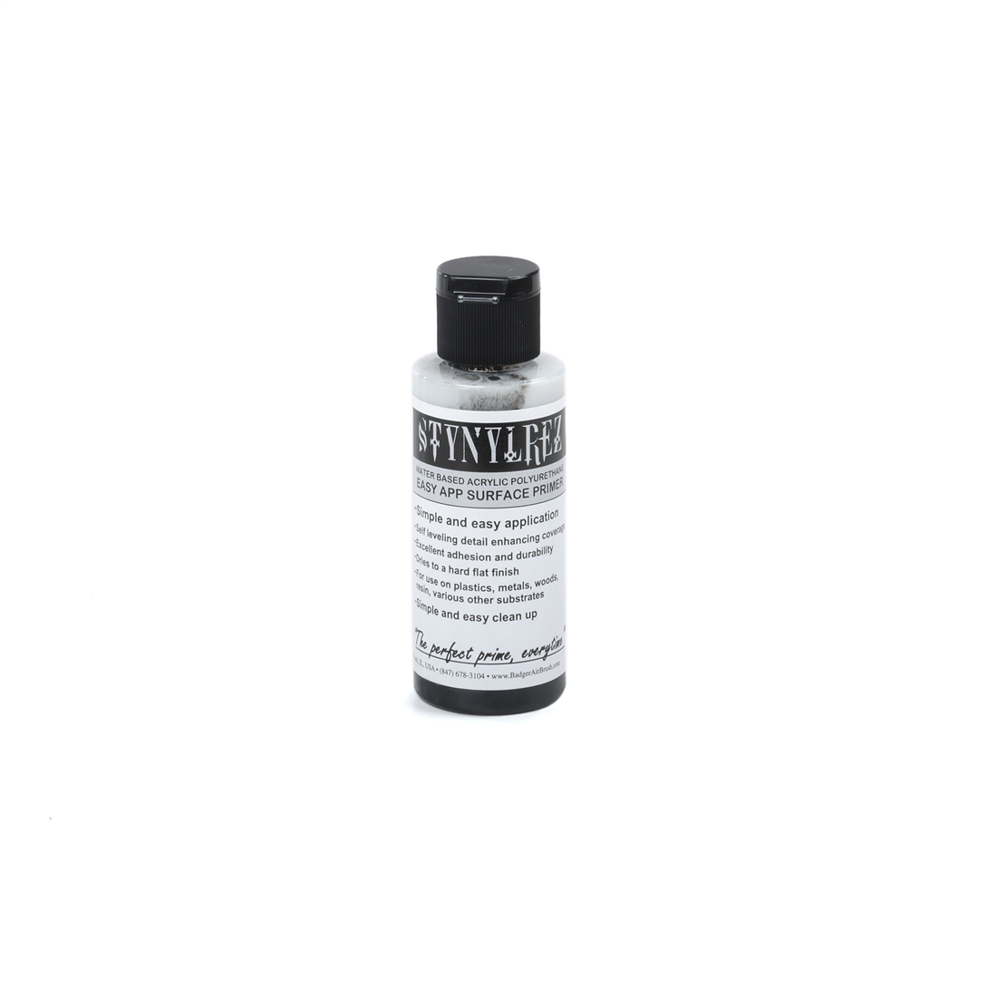 203 Badger Stynylrez black 60 ml.