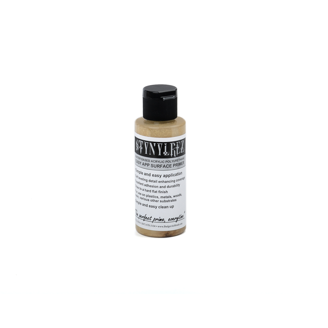 206 Badger Stynylrez yellow 60 ml.