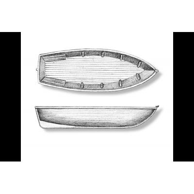 Scialuppe antiche per caravelle