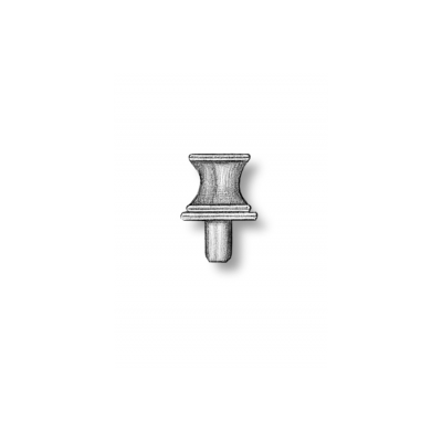Argani verticali in ottone h.mm.4,5