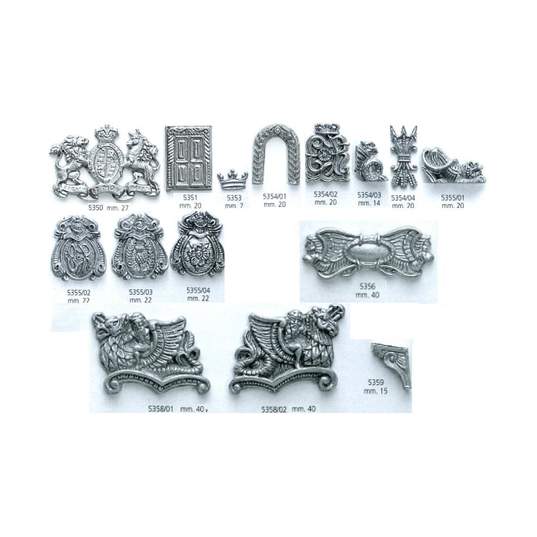 Décoration en métal