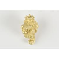 Figures de proue tête lion métal
