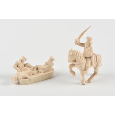 Wooden figure-head Sovereign