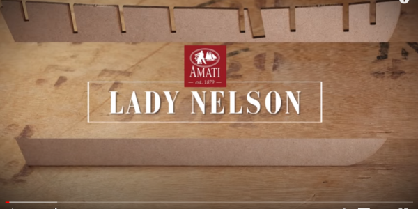 Lady Nelson by Amati: construction step by step