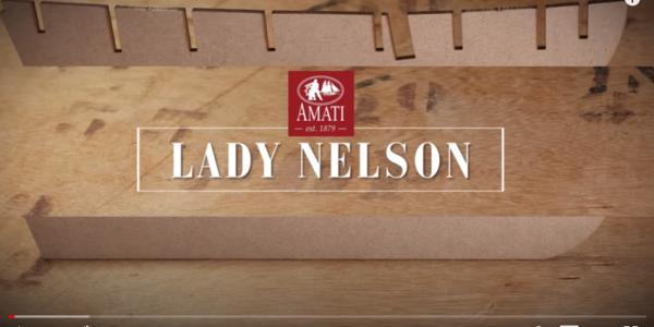 Lady Nelson di Amati: la costruzione passo per passo