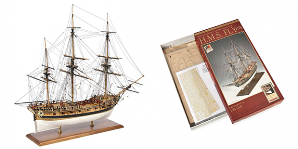 The HMS Fly Bible. The complete guide to building the Amati kit.