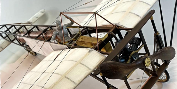 Tom Grigat builds the Amati Model Bleriot XI