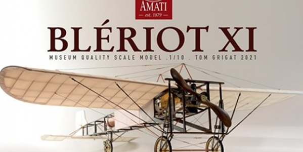 Tom Grigat stop motion video of Amati Model's Bleriot XI